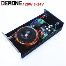 120 ワット DC 5V 9v 12v 15v 24 高精度リニア安定化電源カスタム出力電圧 5 24V