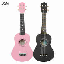 Zebra 21 inch 12 Fret Maple Basswood Soprano Ukulele Nylon 4 Strings Guitarra Acoustic Bass Guitar For Musical Instrument Lover