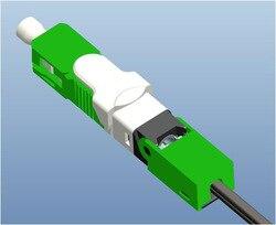 Il trasporto Libero 100 pz/lotto FTTH ESC250D SC APC e SC UPC Single-Mode In Fibra Ottica Nuovo Modello