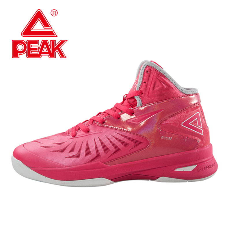 PEAK SPORT Speed Eagle V Women Men Basketball Shoes Cushion-3 REVOLVE Tech Sneakers Breathable Athletic Training Boots EUR 40-50 peak sport lightning ii men authent basketball shoes competitions athletic boots foothold cushion 3 tech sneakers eur 40 50