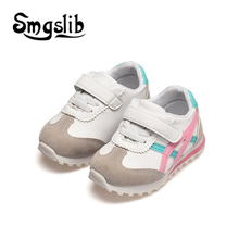 Girls Shoes Baby Boys 2018 Classic Casual Sneakers Kids Running Trainers School Shoes Toddler Soft Children Sport Leather Shoes цены онлайн