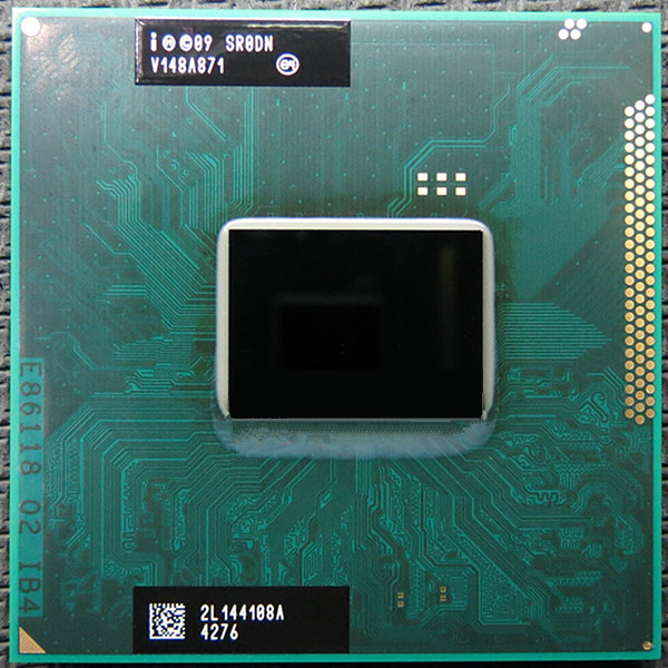 Original Core I3-2350M Processor 3M Cache 2.3Ghz I3 2350M SR0DN PGA988 TDP 35W, Laptop CPU Compatible HM65 HM67 QM67