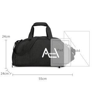 Image 3 - Scione גברים נסיעות ספורט שקיות Mens תיק גדול נסיעות תיק מטען באיכות גבוהה נוסעים ומטען עבור גברים