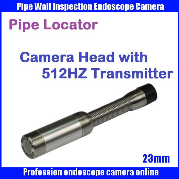23mm Snake Sewer Drain Pipe Wall Inspection Endoscope Camera with 512hz transmitter pipe locator camera head  видеоскоп kenko snake 140155 pipe wall kit 84033 удлинитель эндоскопа