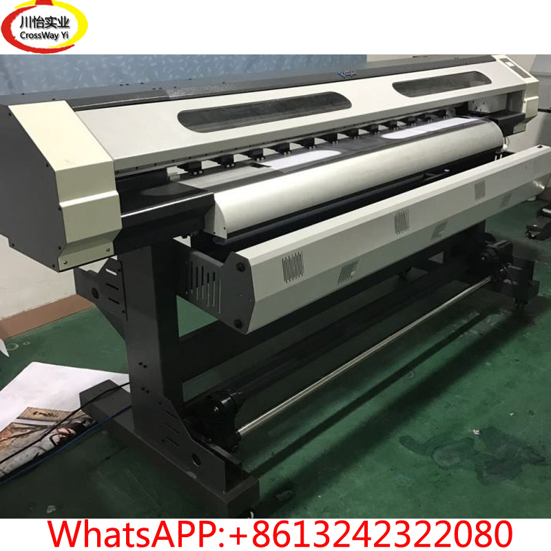 large format flex banner outdoor printer affordable price 1 6m xp600 head eco solvent digital printer entry level large format vinyl banner poster printing machine