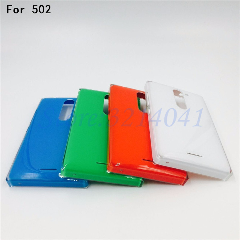 best sneakers f72f4 ebb24 US $4.18 6% OFF|New Battery Back Cover Housing Case For Nokia Asha 502 With  Power Volume Buttons Repair parts-in Mobile Phone Housings from Cellphones  ...