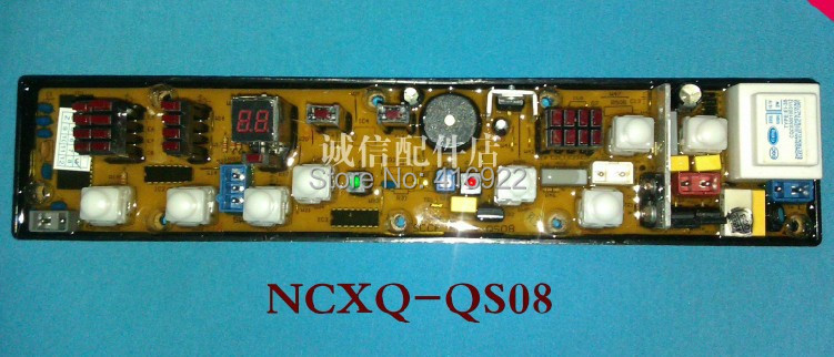 Free shipping 100% tested for kangjia washing machine Computer board control board XQB60-618 NCXQ-QS08  motherboard on sale free shipping 100%tested for mitsubishi washing machine board ncxq qs07 2j n qs07 2 control board on sale