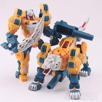 Transformation G1 Commander Weirdwolf Headmaster Warrior Combat KO Reissue Version 70s & 80s Collection Action Figure Robot transformers toys from the 80s
