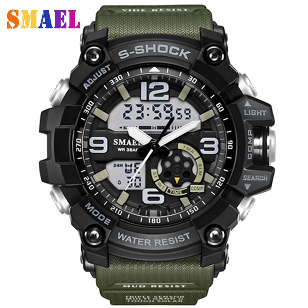 2017 Newest Fashion Brand Military Watch Men s G Style Waterproof Sports Watches Shock Luxury Analog
