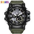 2017 Nueva Marca de Moda Estilo Militar Reloj de Los Hombres A Prueba de agua Relojes Deportivos Choque de Lujo Analógico Digital Relojes Deportivos Hombres