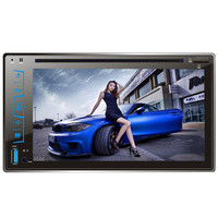 2017 6 2 HD Capacitive Touch Screen Car Bluetooth Stereo DVD Player CD MP3 FM AM