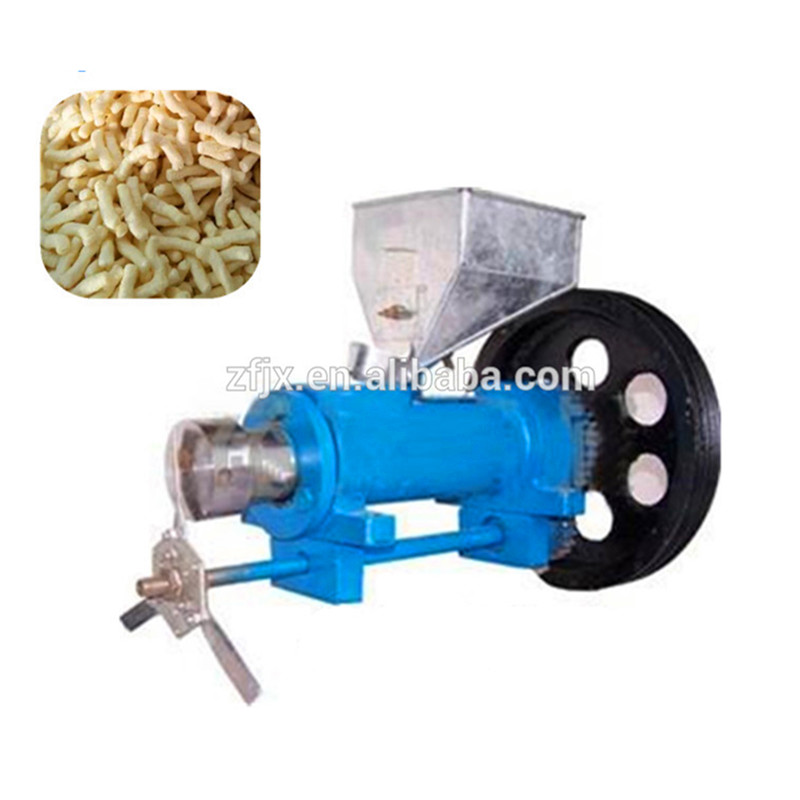 2016 hot sale 60 model multifunctional corn and rice puffed machine puffing maize snacks food extruder making machine ZF large production of snack foods puffing machine grain extruder single screw food extruder