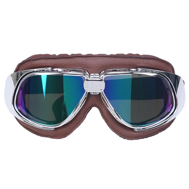 159ab20a7f Motorcycle Goggles Motocross Helmet Ski Goggles Sunglass ATV Cruiser Off-Road  Eyewear Googles Cafe Racer Snow Skating Goggles