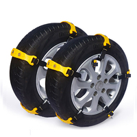 Car Snow Tire Chains Anti Skid Chain Beef Tendon TPU Belt Tire Anti Skid Winter Accessories