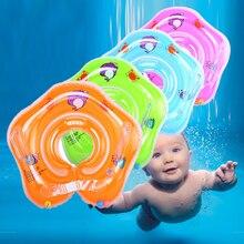 Новые горячие плавательный детский бассейн надувной круг шеи ребенка надувные колеса для новорожденных купальный круг безопасности плавательный круг для шеи