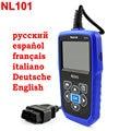 2017 OBD2 Scanner Automotivo Nexlink NL101 With Russian Multi-language Diagnostic Scanner Better Than elm327 for Car Diagnostics