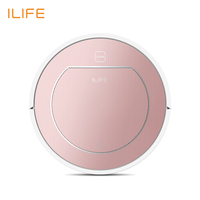 ILIFE V7S PLUS Robot Vacuum Cleaner with Self Charge Wet Mopping for Wood Floor