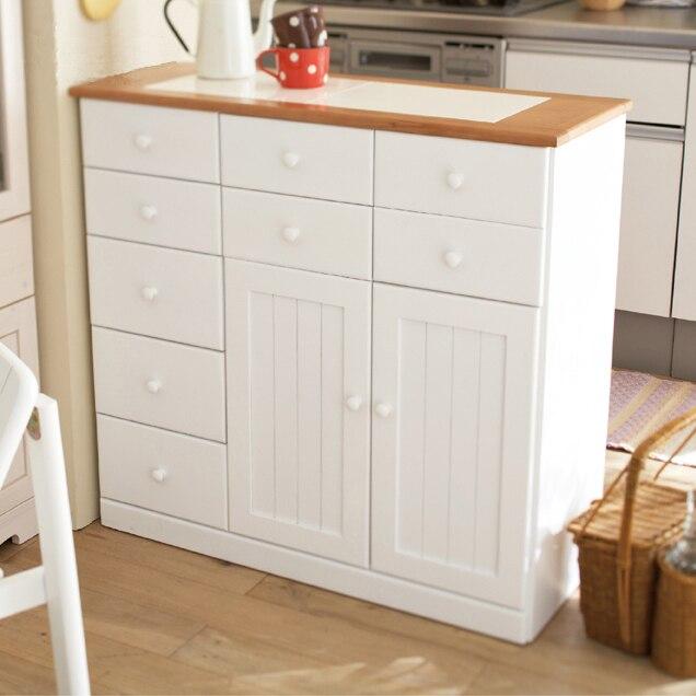 Long On Long Sideboard Solid Wood Kitchen Cabinets Pest Entrance Bowl Modern Minimalist