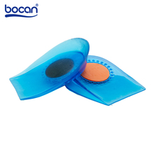 Bocan heel spur insoles foot pain relieve heel protectors inserts shock absorption feet care Insole for men and women