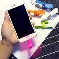 Puerto Mini USB portátil Ventilador Eléctrico para el iphone Samsung Teléfonos Inteligentes