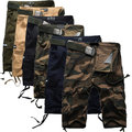 Summer Hot Multi-Pocket Knee-Length Mens Cargo Shorts Popular Mens Shorts 2015