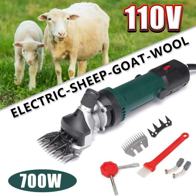 US 1300W 110V Electric Sheep Goat Clipper Groomer Shears Shearing Animal Machine