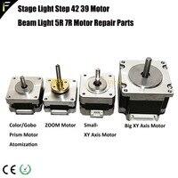 Moving Head Sharpy Beam Light 5R 7R Parts Step Motor Zoom/Focus/Strobe Motor Gobo Color Wheel Prism Frost Motor R7/R5