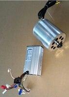 1500ВТ 48В DC бесщеточный мотор и регулятор, Электрический Скутер, пригодный мотор на Эво, электродвигатель подходит на скутер