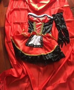 Image 5 - VASHEJIANG high quality Sexy Little Red Riding Hood Costume Women Halloween Costumes Princess Dress Carnival Cosplay Fancy Dress