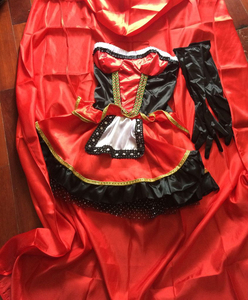 Image 5 - VASHEJIANG جودة عالية مثير ليتل الأحمر ركوب هود زي المرأة هالوين ازياء الأميرة فستان كرنفال تأثيري فستان بتصميم حالم