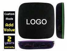 1pcs T1 Custom Made Allwinner H2 Quad core Smart Android4.4 LIVE TV Streaming Box 1GB 8GB MediaHub 1200+ live tv 1000+ VOD