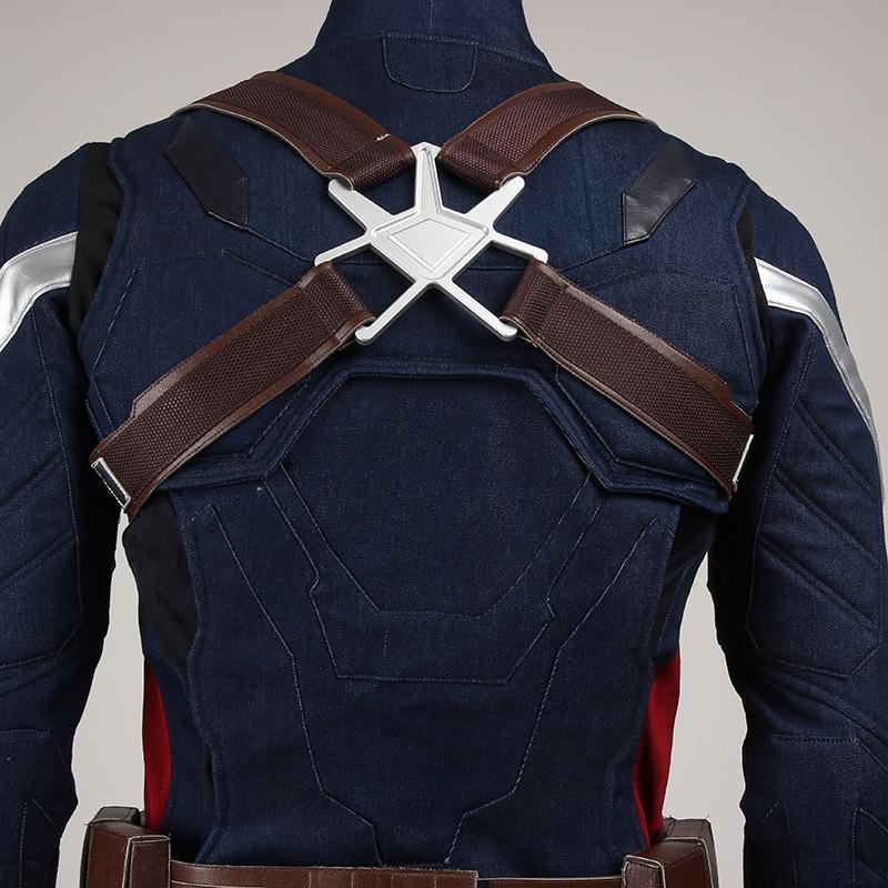 Captain America Cosplay Kostuum The Winter Soldier Steve Rogers - Carnavalskostuums - Foto 5