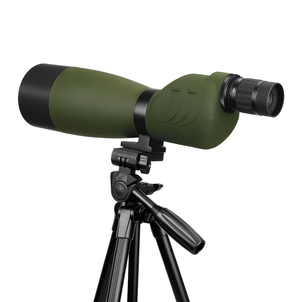 Image 3 - SVBONY SV17 Spotting Scope 25 75x70 mm Zoom Nitrogen 180 De for Target Hunting Archery Telescope with Long 49 inch Tripod F9326G-in Spotting Scopes from Sports & Entertainment