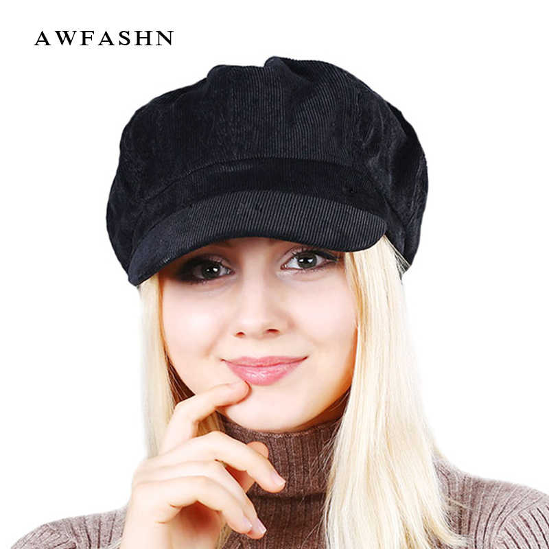 d31003e2b High Quality Fashion Artist Women Beret Hat For Women Cap Female Cap Casual  Dome Bare Chapeau hats Boina soft and comfortable