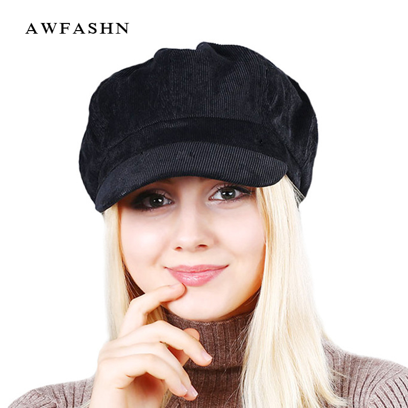 High Quality Fashion Artist Women Beret Hat For Women Cap Female Cap Casual Dome Bare Chapeau hats Boina soft and comfortable