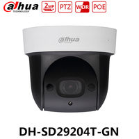 10 Pieces/Lot Dahua SD29204T GN Original Version 2MP PTZ PoE Camera 4X Optical Zoom Built in MIC Replace SD22204T GN With Logo