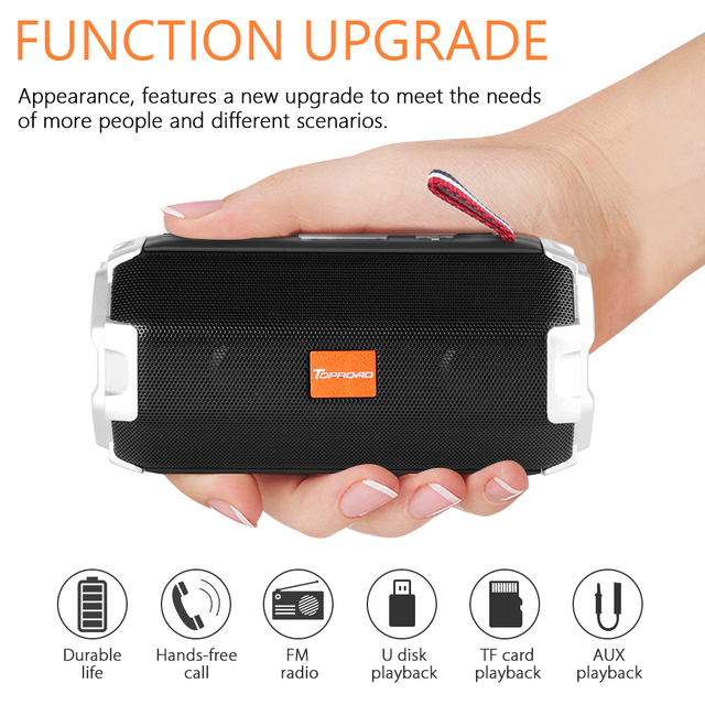 Portable Bluetooth Speaker AUX