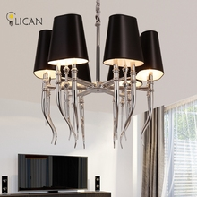 Modern Pendant Chandelier Lighting White pendant chandelier lights for hall Living room Modern Chandelier Lighting