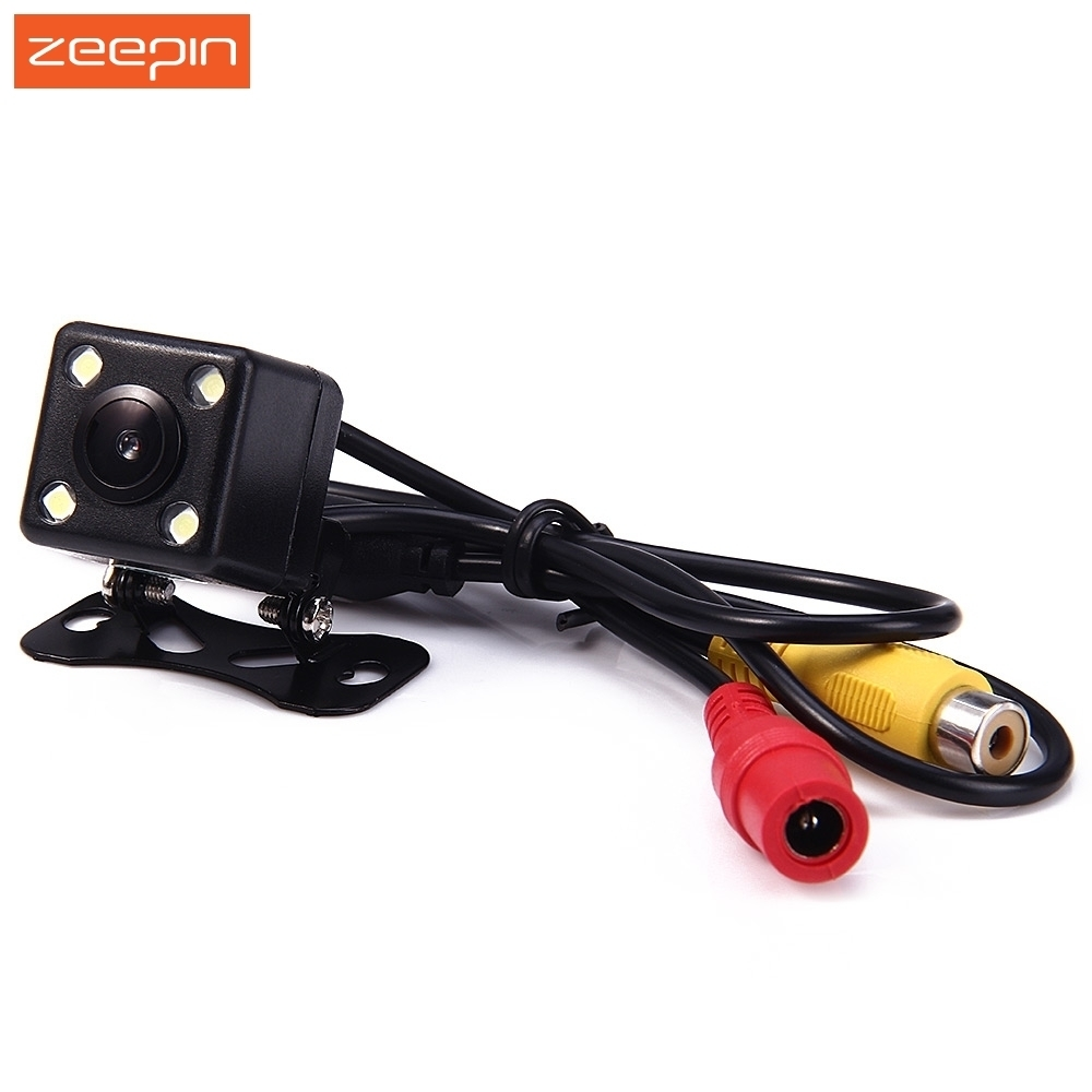 120 Degree Wide View Car Rearview Camera Waterproof HD LED Night Vision Parking Assistance Camear for Car DVD