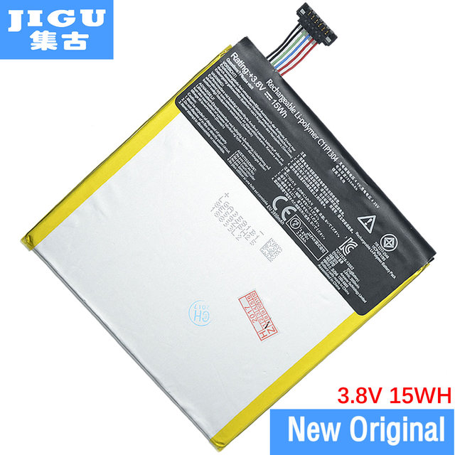 JIGU 100% New 3950mAh C11P1304 Tablets Battery For Asus MEMO PAD HD 7 ME173X HD7 ME173 K00B Rechargeable Li-ion Bateria