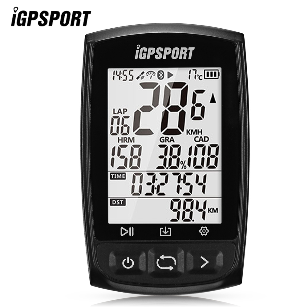 iGPSPORT Bluetooth Wireless GPS Bicycle Bike Computer IPX7 Waterproof Bicycle Cadence Cycling Speedometer Digital Stopwatch