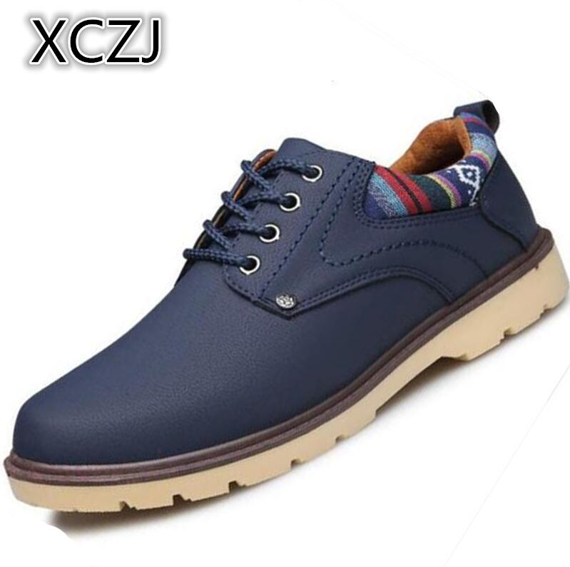 XCZJ 2018 spring Korean version of the trend of mens clothing shoes increased breathable business casual mens shoes