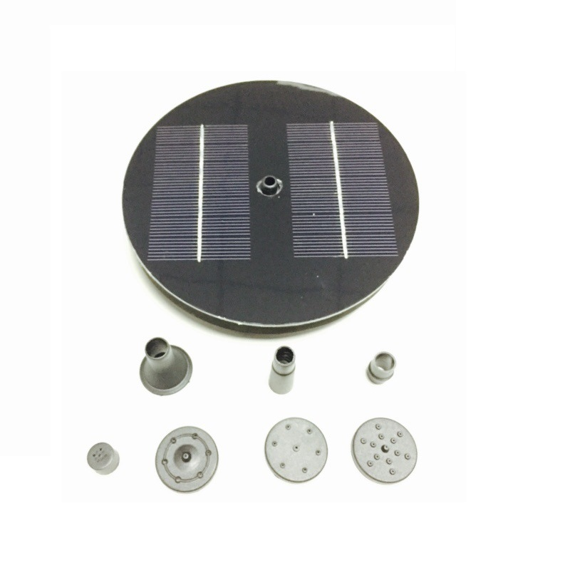 New solar Water Pump Power Panel Kit Fountain Pool Garden Pond Submersible Watering Display стоимость