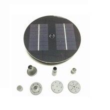 Новый солнечный Водяной Насос Power Panel Kit Фонтан Бассейн Сад Пруд Погружные Полив Дисплей