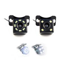 Hippcron Car Rear View Camera 4 LED Night Vision Reversing Auto Parking Monitor CCD Waterproof 170 Degree HD Video