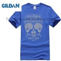 GILDAN Sugar Skulls T Shirt Tequila Tijuana Night Of The Dead Vintage Style T Shirt Brand
