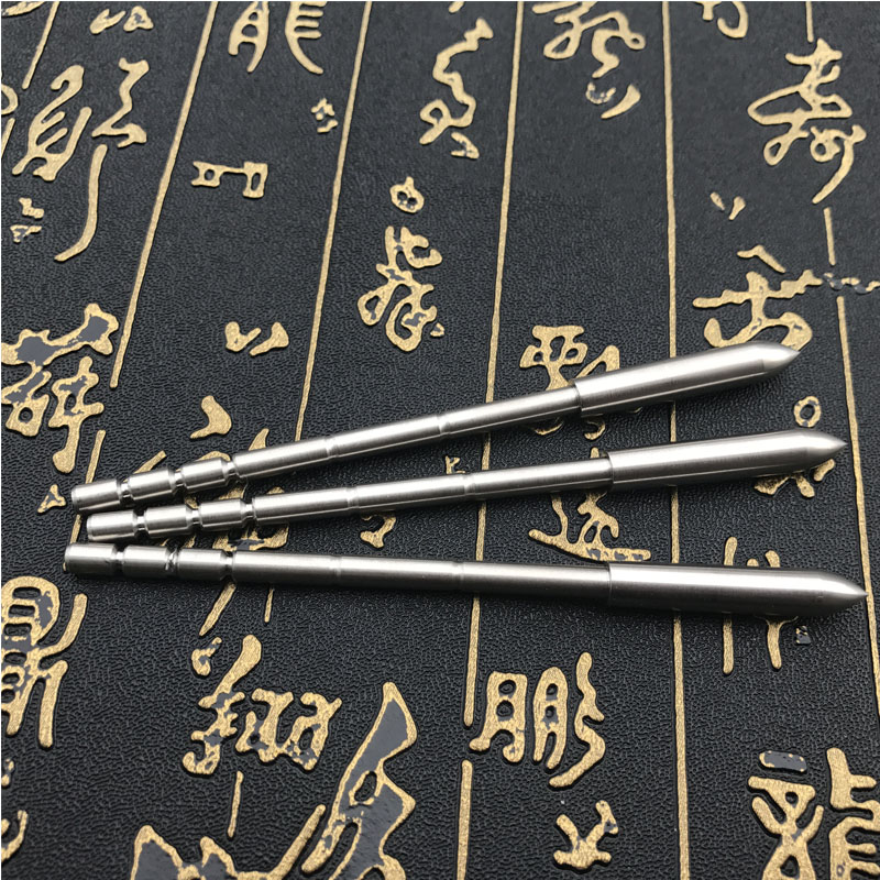 Image 5 - 12pcs Archery 4.2mm Arrowheads Shooting Practice Inner Insert Type Target Point Tips Hunting Accessories Used Carbon Arrow Shaft-in Bow & Arrow from Sports & Entertainment