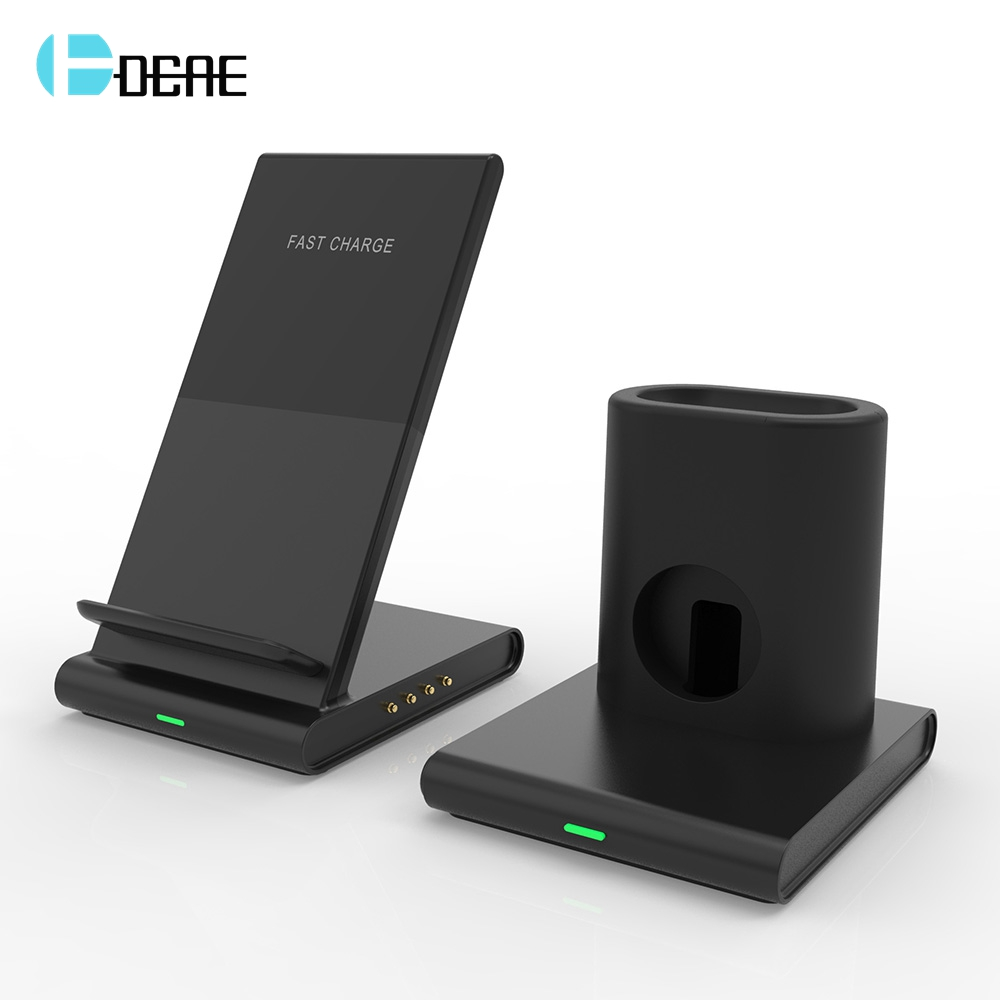 DCAE Qi Wireless Charger 10W Fast Charging Stand for