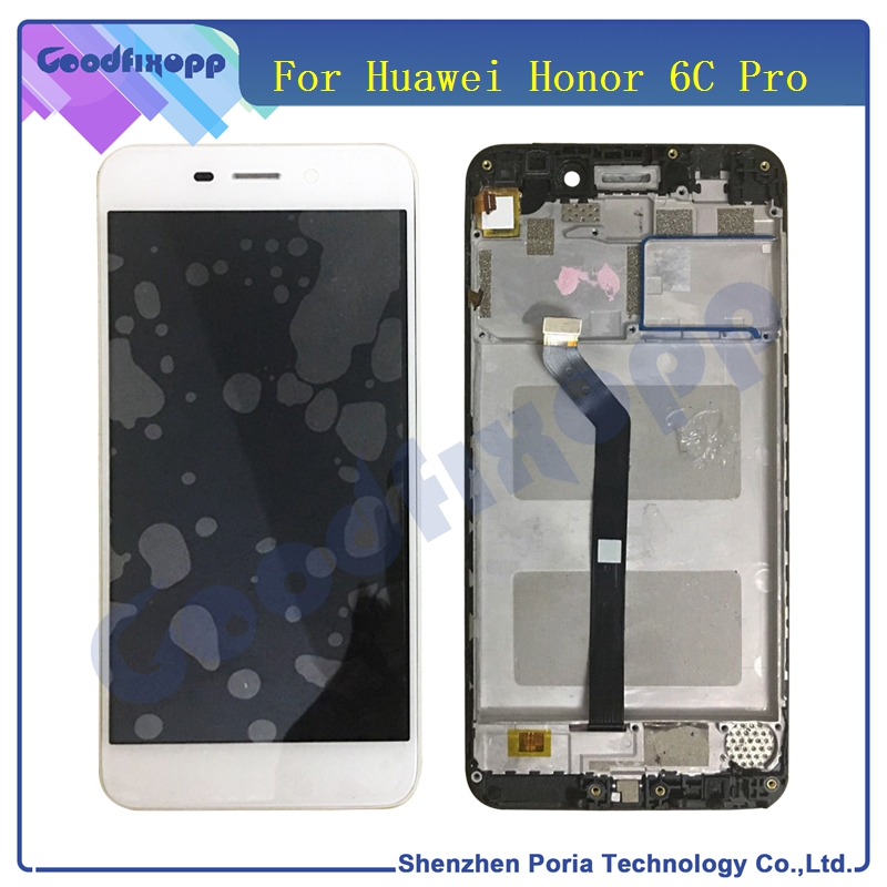 For Huawei Honor 6C Pro JMM-L22 LCD Display With Frame Touch Screen Digitizer Assembly For Huawei Phone For Honor 6C Pro LCD