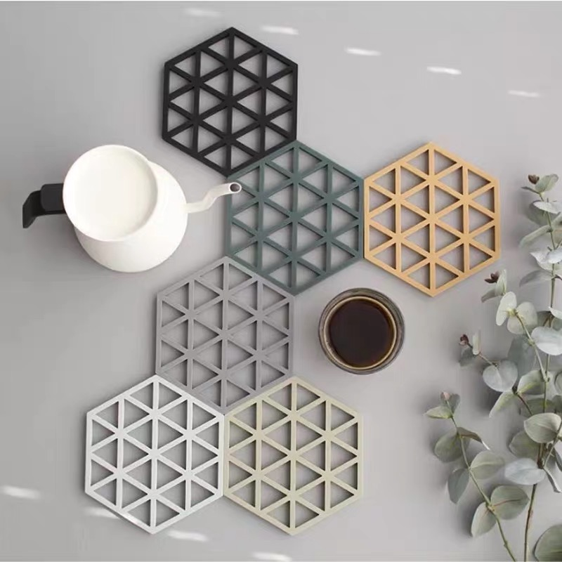 Coaster Concrete Silicone Mould Diamond Stripe shaped Design diy Epoxy Resin Gypsum Crafts Cement Tray Mold